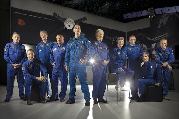 Photo-légende interactive - Français dans l'espace : l'étoffe des héros