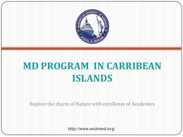 Located in the sovereign Island in Barbados , Washington University of Barbados is the leading caribbean medical school. It welcomes students for the golden op…