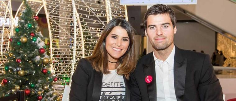Yoann Gourcuff et Karine Ferri prennent la pose ensemble pour la bonne cause (PHOTO)