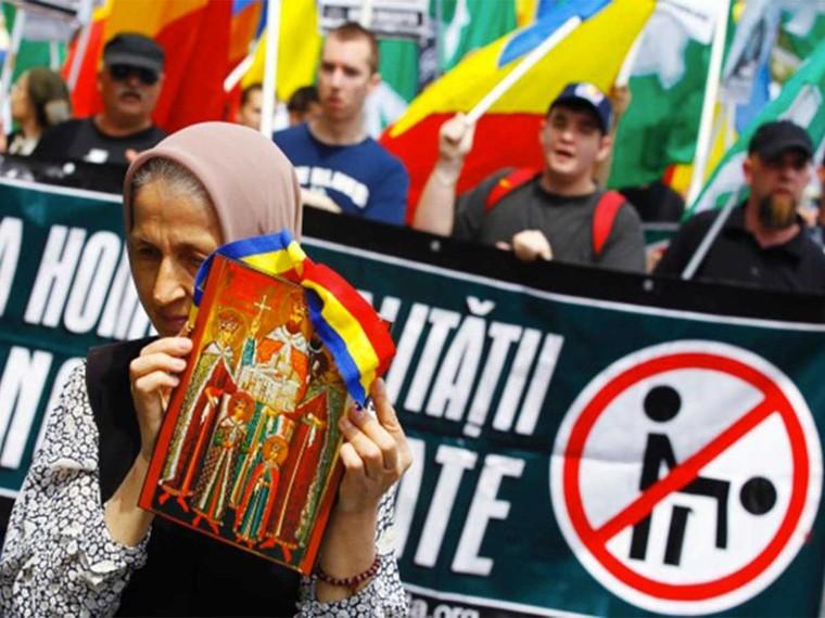 TÊTU | La Roumanie conforte la position des anti-gays