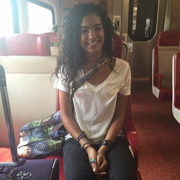 """M A R I S S A on Instagram: """"throwback to my first train ride into NY... I'll be reuniting w/ the city soon 💓"""""""