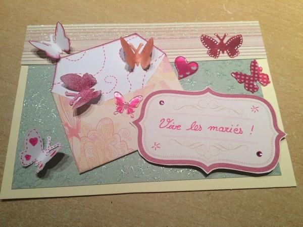 Carte De Mariage Maison (et Enveloppe)