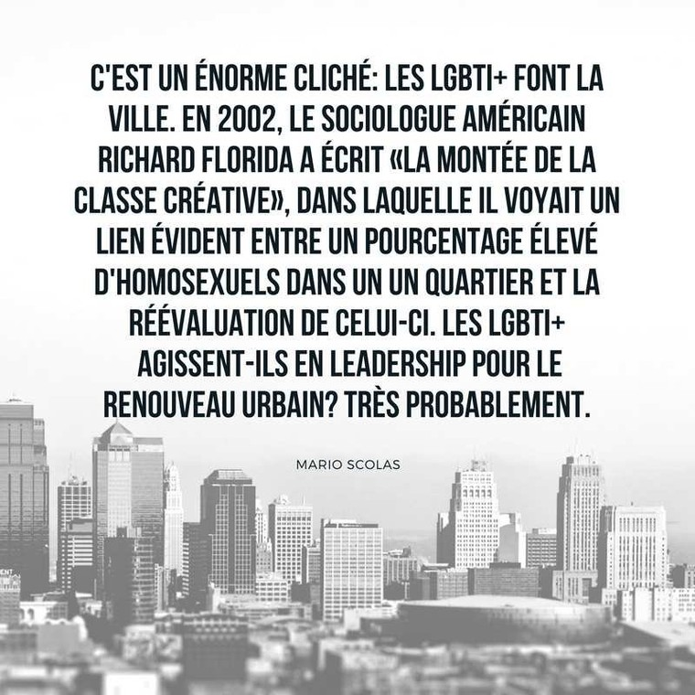 C'est un énorme cliché: les LGBTI+ font la ville. - Encyclopædia of Gay and Lesbian Popular Culture