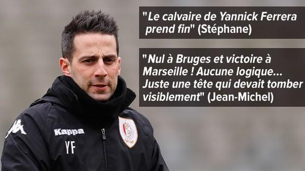 Yannick Ferrera viré du Standard: qu'en pensent les supporters ?