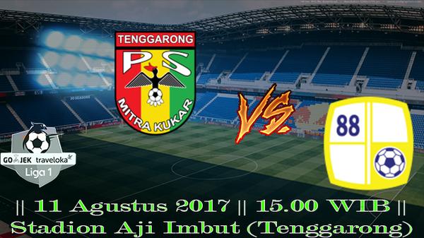 Prediksi Mitra Kukar vs Barito Putera 11 Agustus 2017 Liga 1 Indonesia