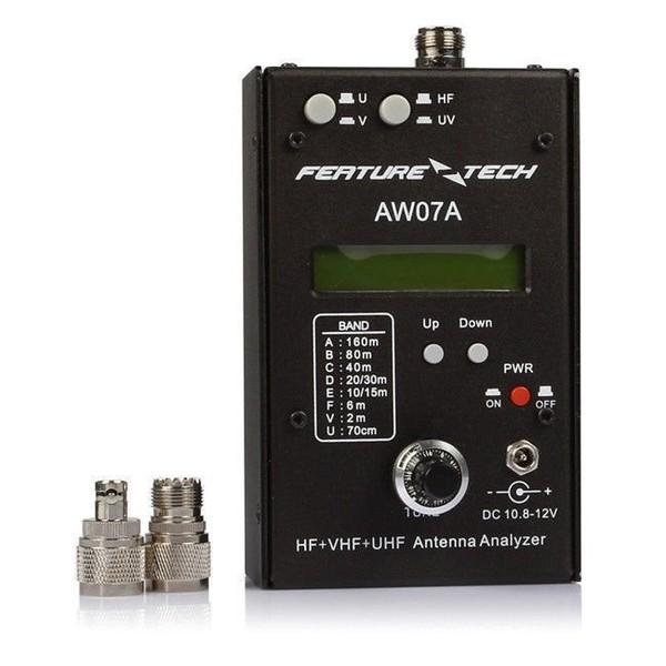 AW07A HF/VHF/UHF 160M Impédance SWR Analyseur d'antenne pr Radio-amateurs DIY