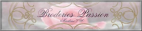 Broderies Passion martine290