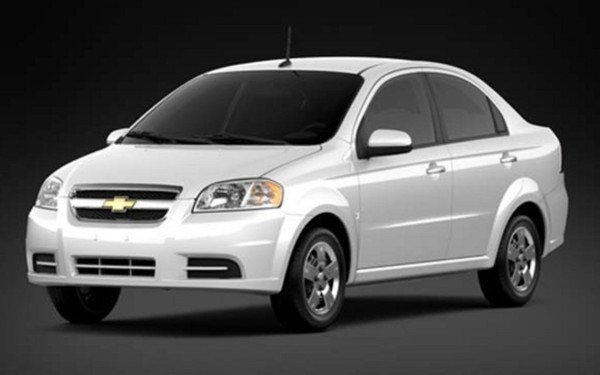 Spécifications Chevrolet Aveo 5 LT 2011 - Guide Auto