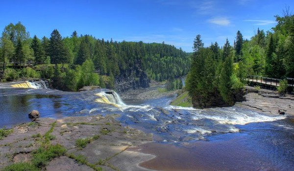 Scenic Landscape at Kakabeka Falls, Ontario, Canada, #11 « Nice Place To Visit