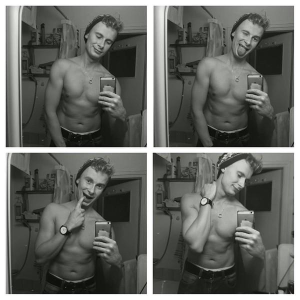 "Michał Graba on Instagram: ""No time to waste. Progress#polishboy #body #black #muscle #model #gayhot #gaylove #sexy #wlyg"""