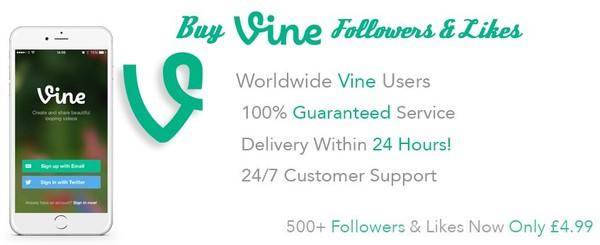 Buy Vine Followers UK & Get FREE Likes
