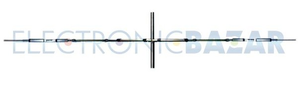 14/21/28 MHz antenne dipôle rotatif PKW THF1e - Antennes Directives - Antennes HF - PRODUITS pour RADIO AMATEUR - Magasin en ligne - Electronic BAZAR