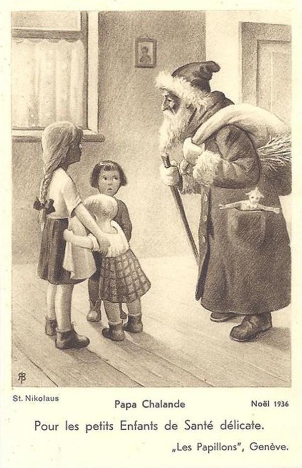 Le père Chalande, papa Noël genevois et savoyard oublié
