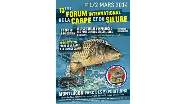Salon Carpe & Silure de Montluçon 2014, les premières infos | 1M2P