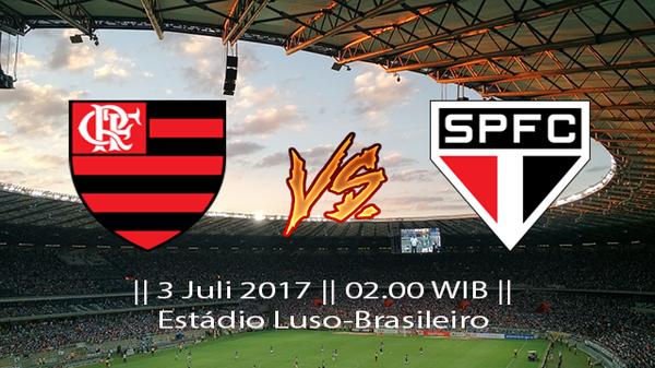 Prediksi Flamengo vs Sao paolo Liga Brasil Seri A 3 Juli 2017