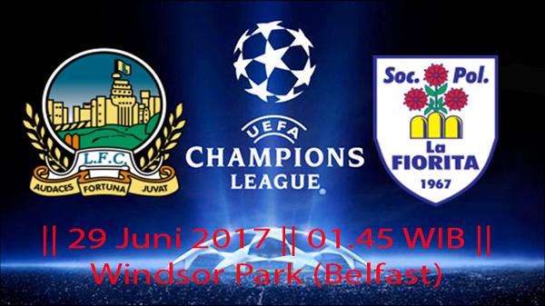Prediksi Pertandingan Linfield vs La Fiorita 29 Juni 2017