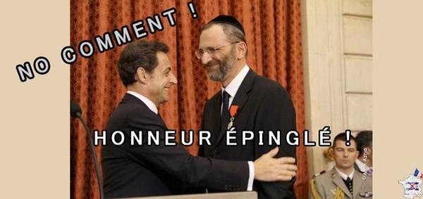 L'honneur épinglé… [No comment !]