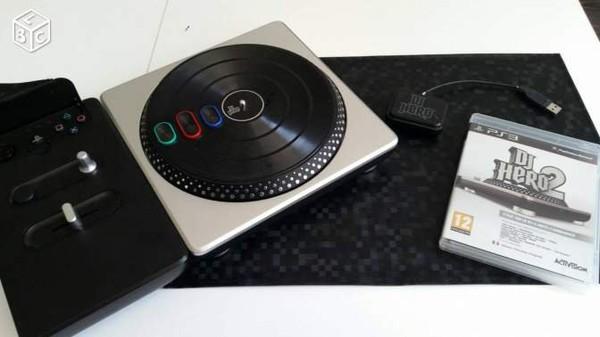 Platine DJ Hero + DJ Hero 2 Consoles & Jeux vido Sarthe - leboncoin.fr