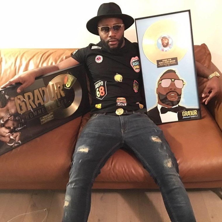 """ Sheguey vara 2 "" l'album de Gradur certifié disque d'or !"