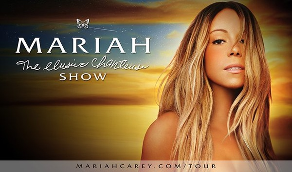 "MARIAH CAREY ANNOUNCES WORLD TOUR ""THE ELUSIVE CHANTEUSE SHOW"""