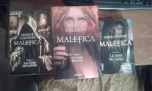 Malefica (3tomes) de Hervé Gagnon