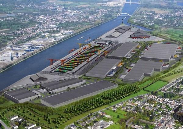 Liège Trilogiport : 1er port intérieur belge et 3eme port intérieur d'Europe