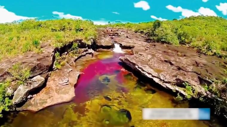 La rivière Arc en Ciel : MAGNIFIQUE !