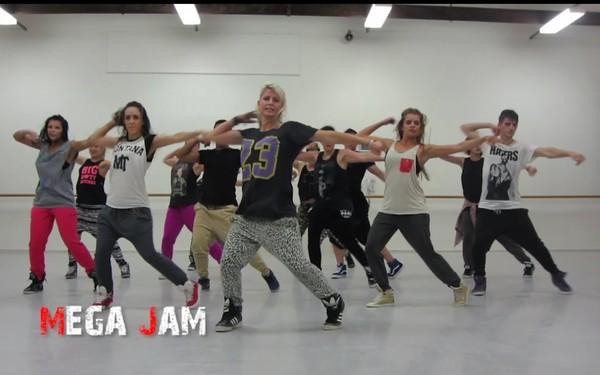 'I Luh Ya Papi' Jennifer Lopez choreography by Jasmine Meakin (Mega Jam)