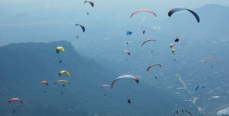 Paragliding in Nepal | Nepal Paragliding Package