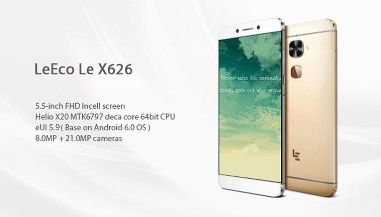 LEECO Le X626 4 Go de RAM 32GB ROM 21MP MTK6797 10-core 5.5 FHD Android M 4G Phone P04-LEX626-T1-DE – TinyDeal