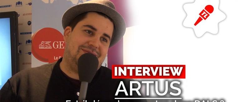 """Artus (Danse avec les stars 7) : """"J'ai perdu du poids depuis le début de l'émission"""" (VIDEO)"""