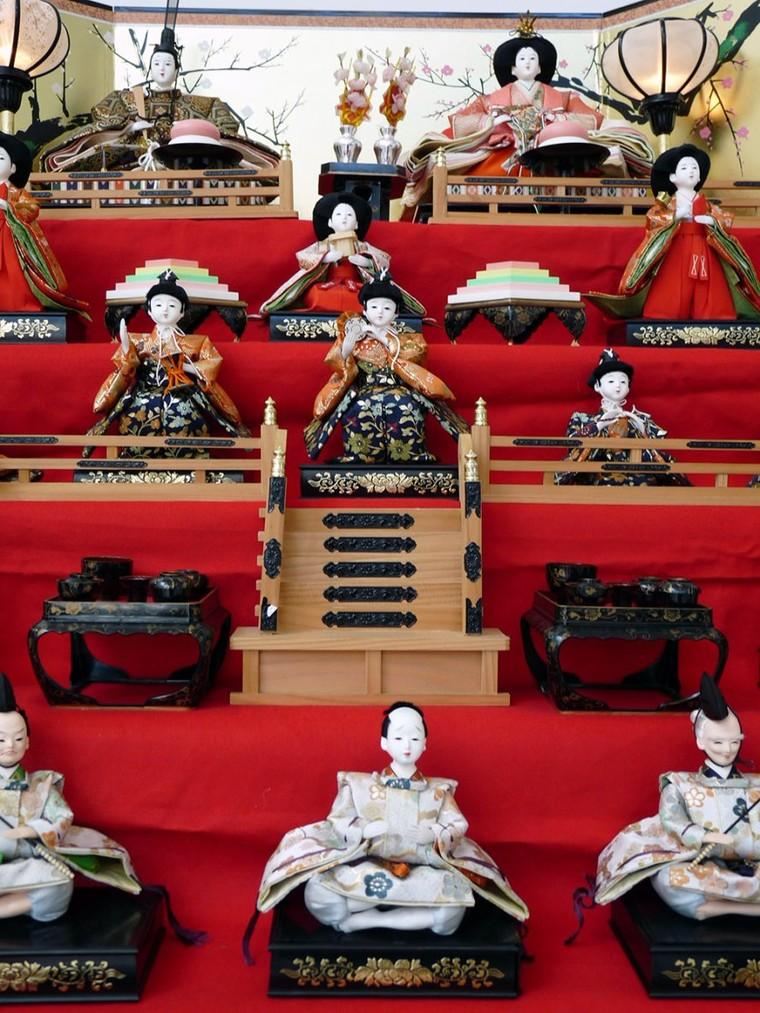 Le 3 mars, le Japon célèbre le Hina matsuri, la journée des petites filles