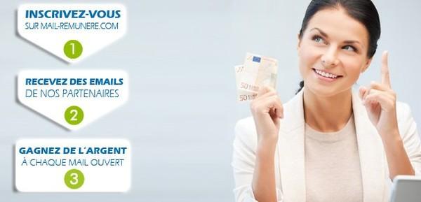 Accueil - Mails Rémunérés