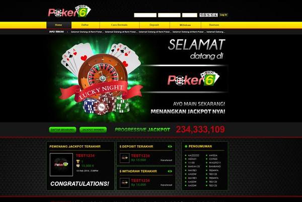 Poker Online Indonesia yang Terbaik 2017