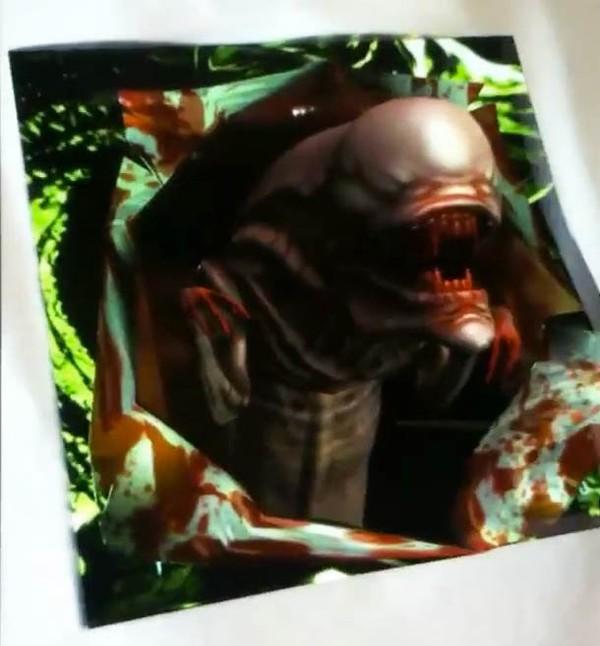 Un Alien en réalité augmentée sur votre T-shirt ? | Ufunk.net