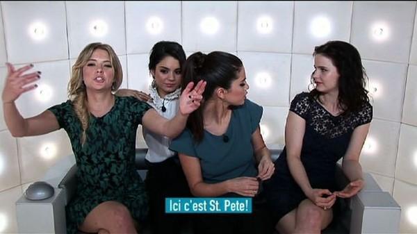 La Boîte à Questions - Avec Vanessa Hudgens, Selena Gomez, Ashley Benson et Rachel Korine
