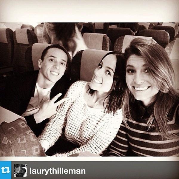 .@alizeeofficiel | #Repost from @laurythilleman NICE nous voilà! ️ @gregoirelyonnet #dals #tournée | Webstagram