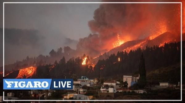 Colonnes de fumées et coulées de lave... un volcan inactif depuis 50 ans entre en éruption aux Canaries