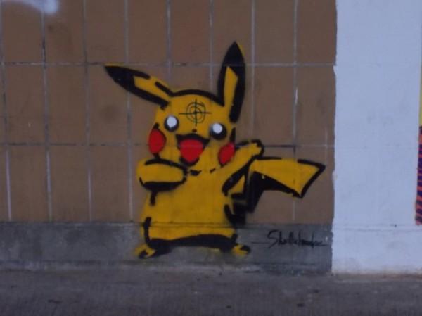 Street Art im Verhältnis
