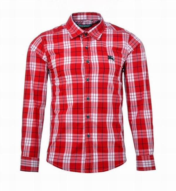 4d406437 Pretty Burberry Men Shirts Long Sleeve Red Checks Cheap - Nike Zoom ...