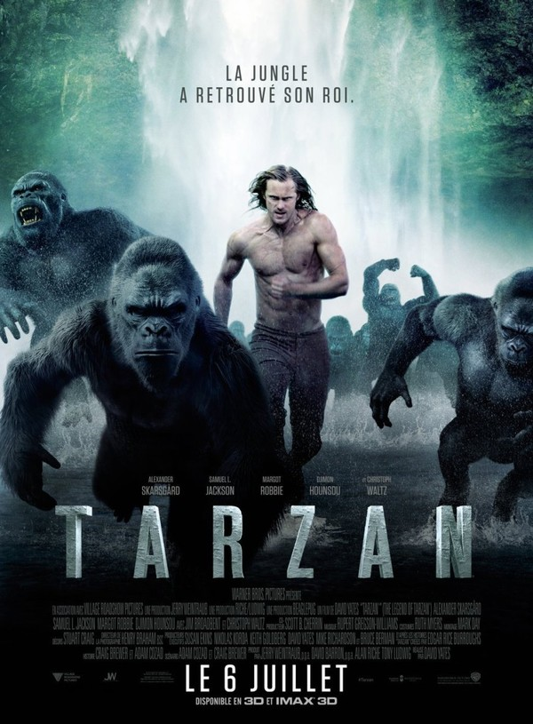 Tarzan (2016) en streaming.