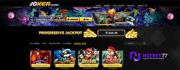 Permainan Mesin Slot Joker123