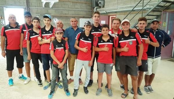 Résultats du Championnat Clubs Jeunes du 09 juillet 2017 à Louhans.