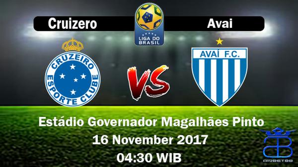 Prediksi Cruizero VS Avai 16 November 2017 | Prediksiskorbolajitu |
