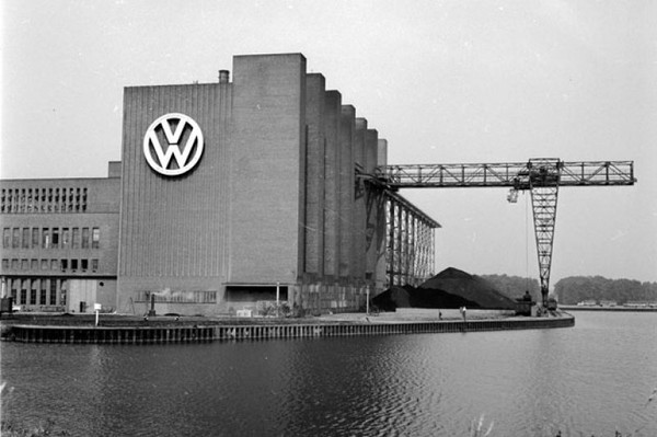 An American Bomb found at the VW factory!