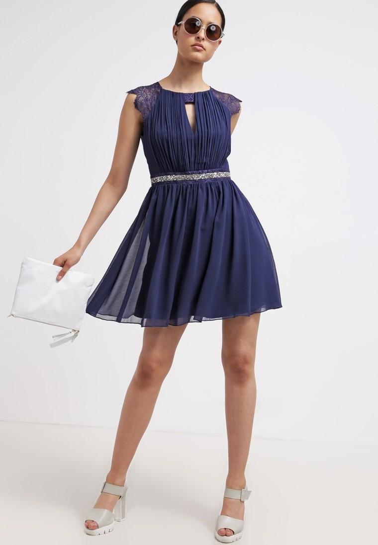 41e91f0dbf4b Lipsy Robe de soirée navy - Robe de soirée Zalando - Tendance Mode Femme