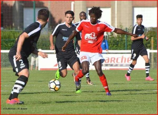 FCR - [CDF] Présentation Barentin - FC Rouen