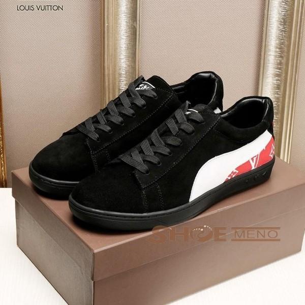 2017また夏の新入荷ブランドコピー通販な当店お薦め偽物Louis Vuittonブランド靴コピーメンズ 靴急いでNO.26017♪♫カジュアルシューズ