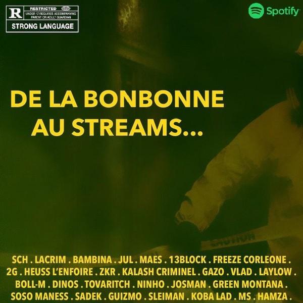 De La Bonbonne Au Streams, a playlist by edenofficiel on Spotify