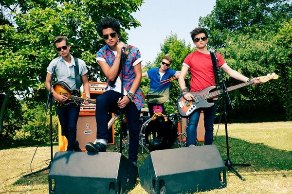 The Vamps prepare to conquer Welsh capital in quest for global dominance